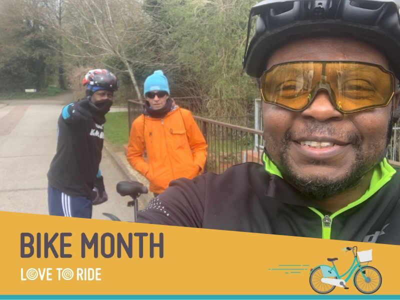 a group of riders enjoying bike month from cyclescheme