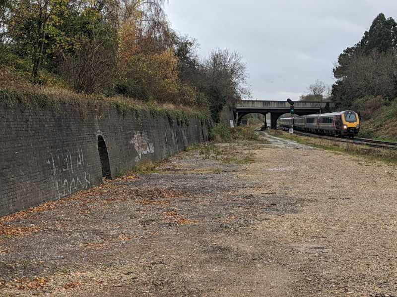 area of land earmarked for new bridge link